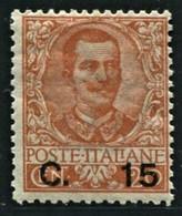 REGNO 1905 15 C. SU 20 C. * GOMMA ORIGINALE  SASSONE N. 79 - Ungebraucht