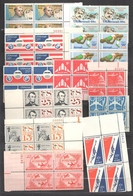 USA Poste Aérienne Lot De 12 Blocs De 4 Entre 1953 Et 1985 Neuf ** - Sin Clasificación