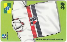 BRASIL O-976 Magnetic Telemar - Sport, Soccer - Used - Brasile