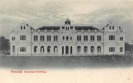 LPD48  Penang Malaysia Postcard: Municipal Building - Malaysia