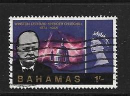BAHAMAS 1966 CHURCHILL   YVERT N°216  OBLITERE - Bahamas (1973-...)