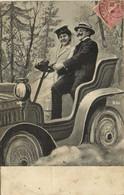 Fantaisie Couple Au Volant D'une Bien Belle Voiture RV - Couples