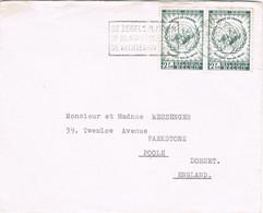 39504. Carta LEUVEN (Belgien) 1959. Stamps Droits De L'homme - Cartas