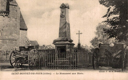 A24036 MILITARIA  SAINT BONNET DE FOUR LE MONUMENT AUX MORTS - Andere Gemeenten