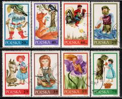 Poland 1968 Mi# 1828-1835 Used - Fairy Tales - Usados