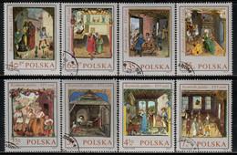 Poland 1969 Mi# 1963-1970 Used - Miniatures From Behem's Code, Completed 1505 - Gebruikt