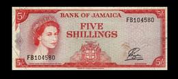 # # # Sehr Seltene ältere Banknote Aus Jamaika (Jamaica) 5 Shillings  # # # - Jamaica