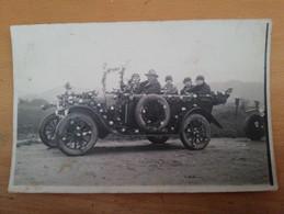 Romans(26) Carte Photo Auto Fleurie (1931) - Romans Sur Isere
