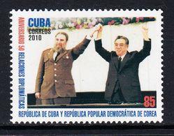 2010 Cuba Links North Korea Complete Set Of 1 MNH - Nuevos