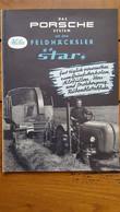 TRACTEUR PORSCHE STAR DOCUMENTATION DEPLIANTE FORMAT FERME 21 X 15 CM - Agricoltura