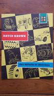 TRACTEUR DAVID BROWN DOCUMENTATION DEPLIANTE FORMAT FERME 26 X 20 CM - Agricoltura