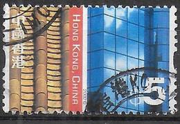 HONG-KONG - 2002 - CULTURA ORIENTALE - & 5 - USATO (YVERT 1038 - MICHEL 1066) - Usados
