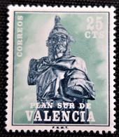 Plan Sur Valencia Edifil N° 8 Neuf Sans Trace De Charnière - 1971-80 Nuevos & Fijasellos