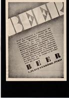 MODE Beer Paris - Publicité Papier Coupure De Presse  - Année 1927 - Publicidad