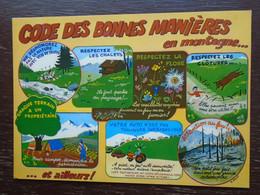 Code Des Bonnes Manières En Montagne - Andere