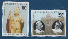 "Gabon Aerien YT 217 & 218 (PA) "" Papes "" 1979 Neuf** - Gabon"
