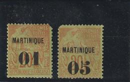 Martinique N° 3/4 - Neufs