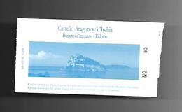 Biglietto Di Ingresso - Castello Aragonese Di Ischia - Tickets - Entradas