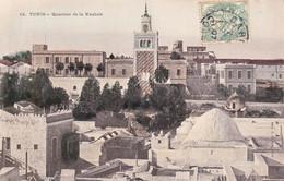 1907 Colorisée Tunis Quartier De La Kasbah - Tunesië