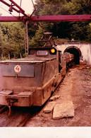 MINELE CAVNIC-SUIOR / MARAMURES - TRAIN De LA MINE D'OR / GOLD MINE TRAIN - PHOTO 10 X 15 CM - 1987 (ag665) - Roumanie