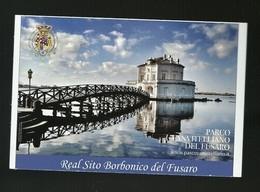 Biglietto Formato Cartolina - Real Sito Del Fusaro - Tickets - Entradas