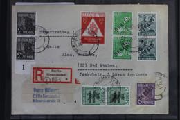 Berlin Auf Brief Als Mischfrankatur E-Brief Berlin-Siemensstadt #BB494 - Unclassified