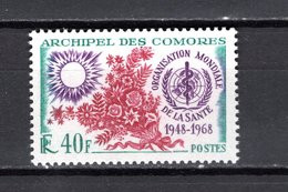 COMORES N° 27  NEUF SANS CHARNIERE COTE 3.00€  OMS - Unused Stamps