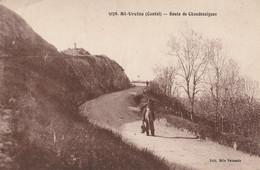 15  SAINT URCIZE  Route De Chaudesaigues     Edition Vaissade - Other Municipalities