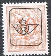 Année 1968 - COB  PRE782(P1)** -  Chiffre Sur Lion Héraldique  -  10c Rouge Orange  -  Cote  0,15 € - Typos 1951-80 (Chiffre Sur Lion)