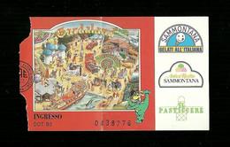 Biglietto Di Ingresso Parco Giochi - Gardaland Tipo 1 - Tickets - Entradas