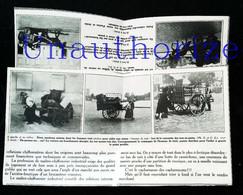 """► La """"Zone"""" De VANVES - Les Chiffonniers """"dits Biffins"""" -  Coupure De Presse Originale Début XXe (Encadré Photo) - Documentos Históricos"""