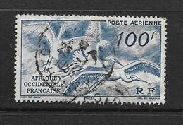 AOF 1947 AERIEN  YVERT N°PA13  OBLITERE - Oblitérés