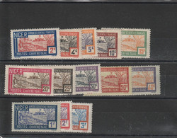 Niger Taxes  N°9/21 - Unused Stamps
