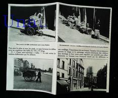 """►  """"Zones"""" De VANVES & Saint OUEN - Chiffonniers """"dits Biffins"""" - Coupure De Presse Originale Début XXe (Encadré Photo) - Documentos Históricos"""