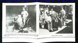 """►  """"Zone"""" De VANVES Chiffonniers  """"dits Biffins"""" Famille Billet - Coupure De Presse Originale Début XXe (Encadré Photo) - Documentos Históricos"""