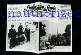 """► PARIS Quartier Auteuil - Les Chiffonniers  """"dits Biffins""""  - Coupure De Presse Originale Début XXe (Encadré Photo) - Documentos Históricos"""
