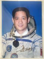 China Space Shenzhou -6 Manned Spaceship Astronaut Nie Haisheng Orig Hand Signed Photo - Signed Photographs