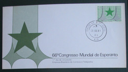 Brasilio. 66 Internacia Esperanto Kongreso 1981 - Cartas
