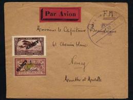AGHBALOU N'SERDANE - MIDELT - MAROC / 1950 LETTRE FM AVION D'UN OFFICIER POUR NANCY (ref 5712) - Briefe U. Dokumente