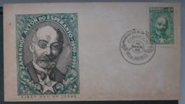 Brasilio. Autoro De Esperanto Zamengof1960 - Cartas