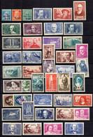 France Belle Collection De Bonnes Valeurs Anciennes Neufs ** MNH 1928/1941. TB. A Saisir! - Collections