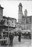 Bastia - Le Marché Et L'église St Jean - Bastia