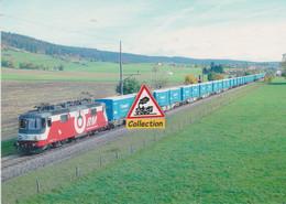 Re 436 113-5 RM Et Son Train De Combiné, Aux Verrières (Suisse) - - Eisenbahnen