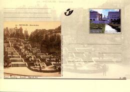 11200506 BE 20001014; Bruxelles Autrefois, Bx Aujourd'hui; Mont Des Arts; Cob BK84 - Cartes Postales [1951-..]