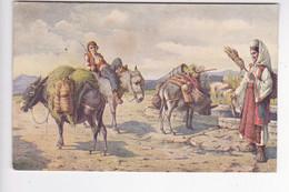 CRO2183  --   V. MENEGHELLO - DINCIC  --  AM BRUNNEN, DALMATIEN  --  1929 - Croatie