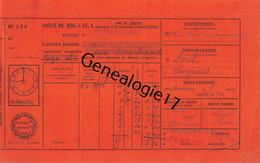 37 2024 BOURGUEIL INDRE LOIRE 1949 CONGE Laisser Passer J. RIEU - 1900 – 1949