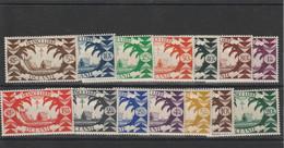 Océanie Série De Londres N° 155/168 - Unused Stamps