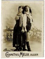 CIGARETTES MELIA -  E. D'ALENCON  - Tirage A - Melia