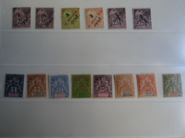 Timbres Neufs* 37.40.41.44.45.49.59.60.64 à68.71 - Unused Stamps