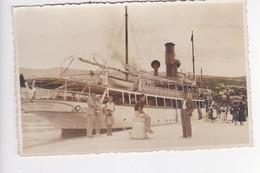 CRO2194  --  BROD  ,, TOPOLA ,,  --  SUSSA, SUSAK  --    SHIP, DAMPFER  --  REAL PHOTO PC  --  FOTO: GRIESBACH I KNAUS - Croatie